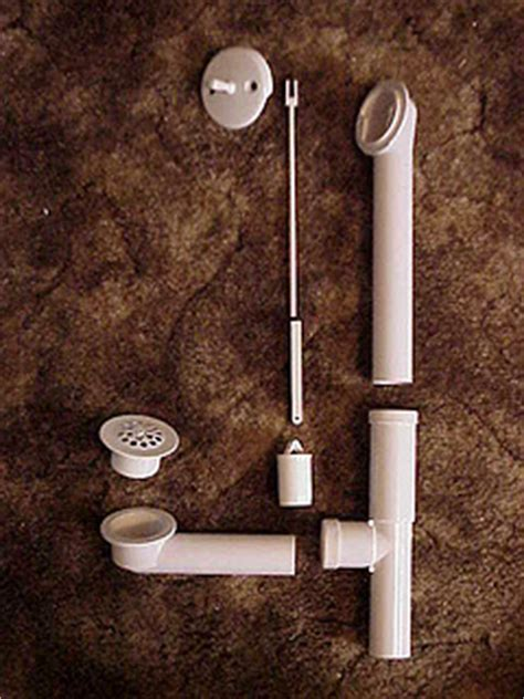 replace bathtub drain pipe replace a bath tub drain pipe and overflow tube