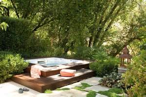 Backyard Spas 65 Awesome Garden Tub Designs Digsdigs