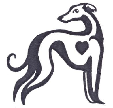 i love this greyhound tattoo ideas pinterest