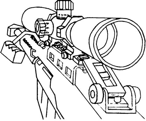 first person gun coloring coloring pages