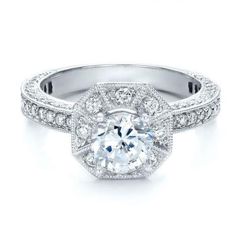 halo engagement ring vanna k 100668 bellevue