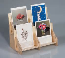 greeting card holders rack and displays from clear solutions