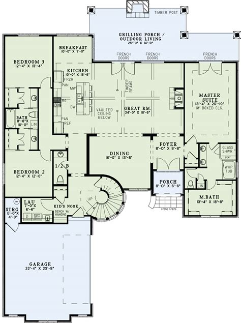 beautiful 2 story house plans with upper level floor plan house plan 153 1990 4 bdrm 3 083 sq ft luxury french