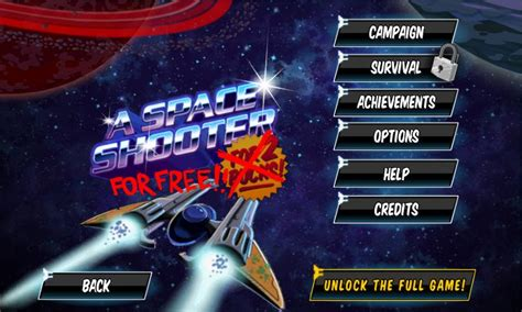 A Space Shooter For Free Android Apps on Google Play