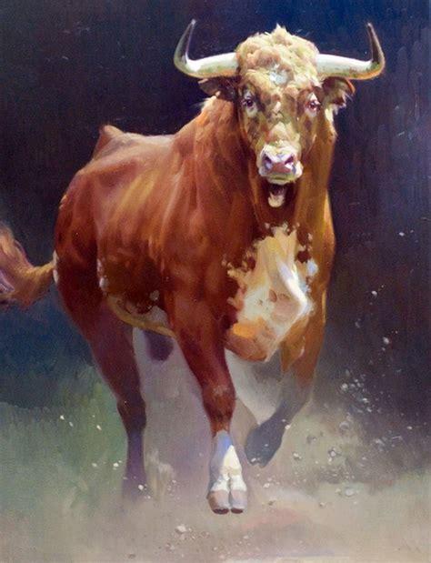Imagenes Artisticas De Toros | cuadros modernos pinturas comerciales toros