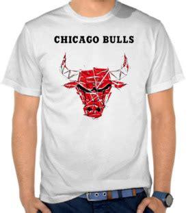 Kaos Logo Tim Nba Chicago Bulls 2 Nm1sa jual kaos basket satubaju kaos distro koleksi