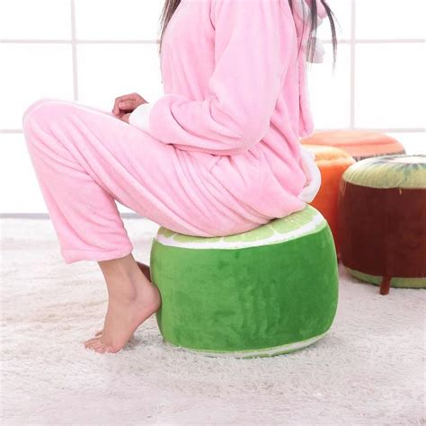inflatable chair fruit inflatable stool ottoman furniture  kids adults  teens