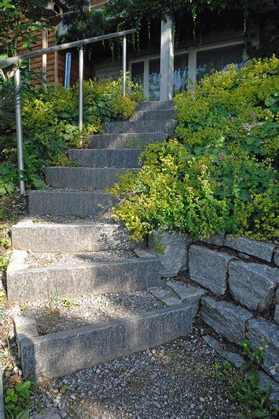 treppe im garten wege und treppen im garten gartenbau ag