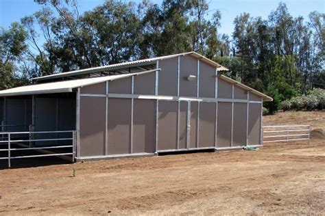 Rand Built Sheds by Raised Center Aisle Barns Fcp Building