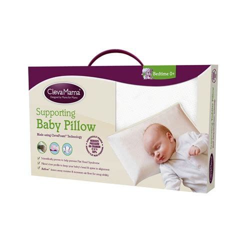 Pillow For Infants by Clevamama Clevafoam Baby Pillow
