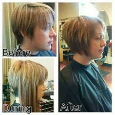 can you put hair extensions in pixie cuts growing out a pixie and adding in side extensions tape in