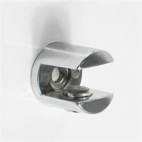 factory prices 50pcs lot zinc alloy adjustable glass shelf
