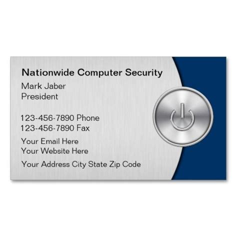 security business cards templates 17 best images about security business cards on