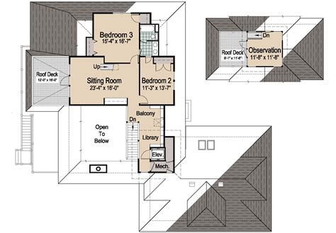 house plans with elevators cool house plans with elevators