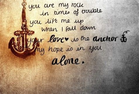anchor tattoo bali the bali bible you are my rock in times of trouble you lift me up when i
