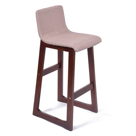 modern contemporary counter stools new modern wood fabric chevron barstool 28 5