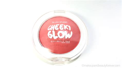 Maybelline Cheeky Glow Blush maybelline cheeky glow blush fresh coral review