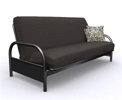 black metal futon rainbow black metal futon frame w 8 quot futon mattress