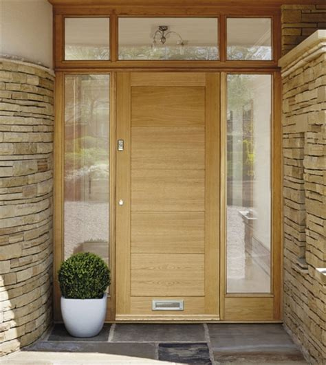 howdens front doors external linear oak door external hardwood doors doors