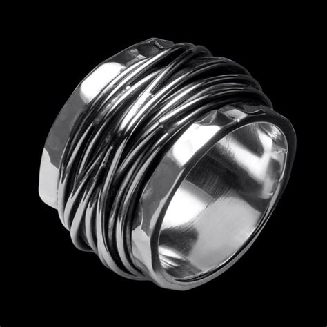25 best ideas about chunky silver rings on