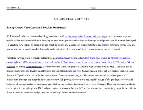 Gift Letter Encompass of things iot patent strategy r d monetization consulting