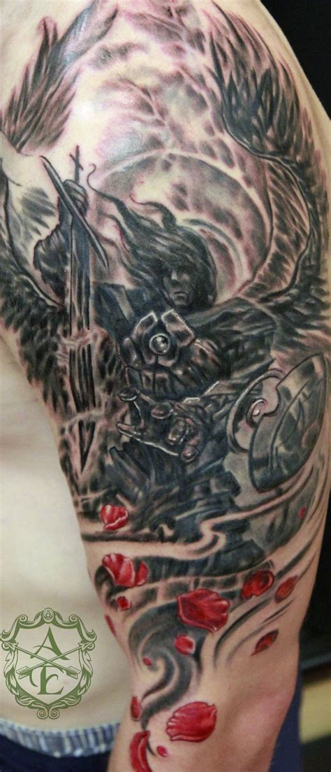 angel michael tattoo 35 best warrior michael images on