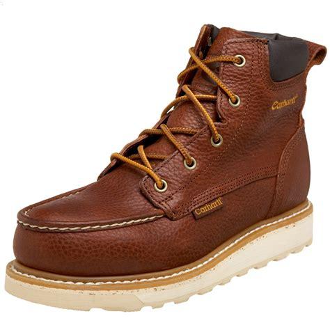 carhartt steel toe work boots carhartt mens 6 steel toe work boot in brown for lyst