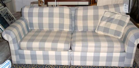 blue plaid sleeper sofa plaid sleeper sofa ansugallery com