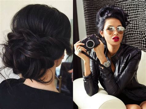 Black Hairstyles 2017 Updos by Mesmerizing Jet Black Hairstyles 2017 Hairdrome