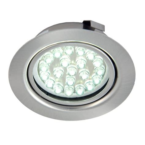 recessed cabinet lighting recessed 1 5w led cabinet light cool white or warm