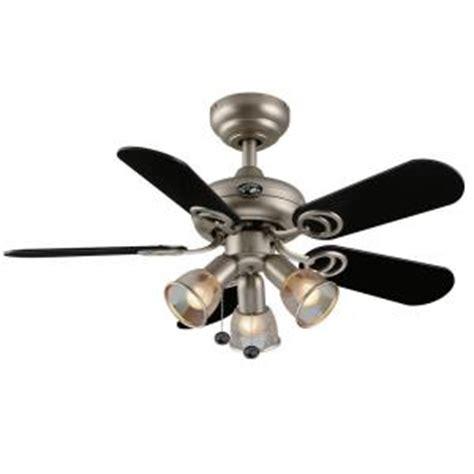 36 inch ceiling fans home depot hton bay san marino 36 in brushed steel ceiling fan