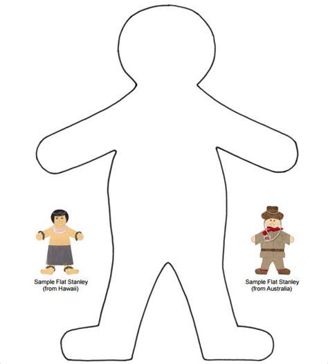 sle flat stanley template 8 free documents in pdf word