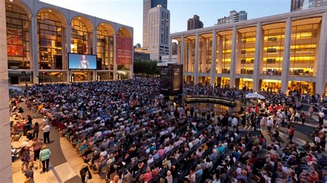 lincoln center summer festival the metropolitan opera kicks 10 day series of free
