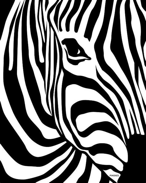 zebra canvas print canvas art by ron magnes zebra