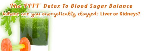 Detox For Blood Sugar by Events