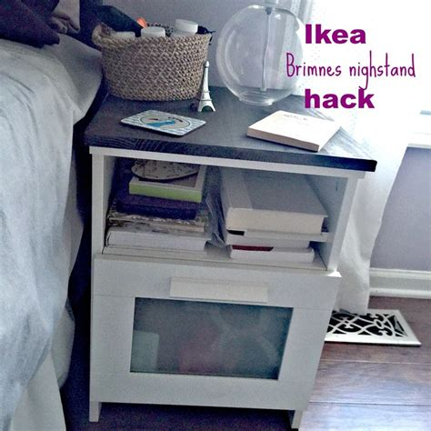 ikea brimnes nightstand hack  easy diy  dress
