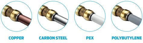 Plumbing Types by Fittings For Copper Pex Polybutylene Pipe Versatile