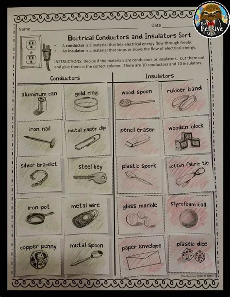 electrical conductors in the house 10 best conductors and insulators images on experiment finals and fourth grade