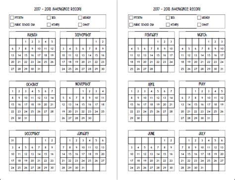 Calendar 2018 Uq Free 2017 2018 Homeschool Planner Planner