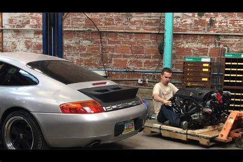 Porsche 996 V8 Conversion by I M Swapping An Ls V8 Into My 248 000 Mile Porsche 911