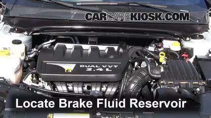automotive air conditioning repair 2008 honda pilot transmission control 2008 2014 dodge avenger brake fluid level check 2010 dodge avenger sxt 2 4l 4 cyl
