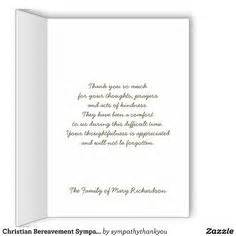 appreciation letter condolences funeral thank you notes with a strong tree personalized