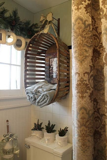 bathroom towel storage baskets 25 recycling ideas turning clutter into creative wall