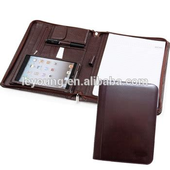 leather resume portfolio folder document organizer buy a4 leather folder