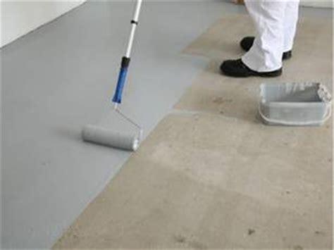 estrich streichen garagenboden streichen mit garagenfarbe bei heimwerker de