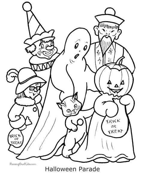 halloween coloring pages free to print printable coloring pages for halloween 006