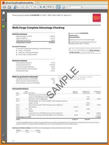 fargo bank statement template 7 fargo bank statement statement 2017