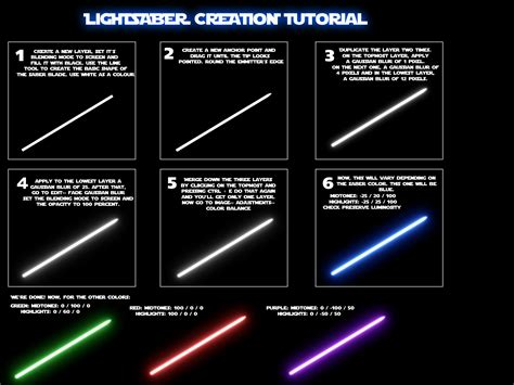 lightsaber tutorial by nico89 fx on deviantart