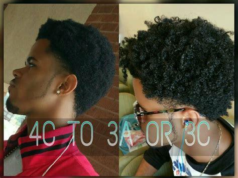 4c hair men 4c to 4b curls botanicals texturizer youtube