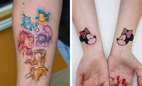 cute disney tattoos 25 disney tattoos that are beyond stayglam